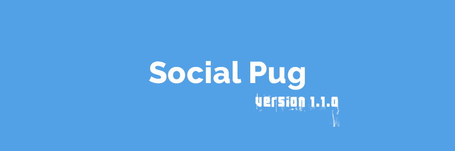 Social Pug: Social Sharing Plugin for WordPress