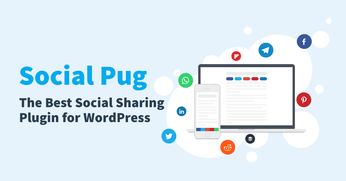 Increase your social shares and website traffic with Social Pug